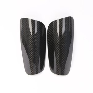 Custom strong carbon fiber soccer shin guard for soccer race