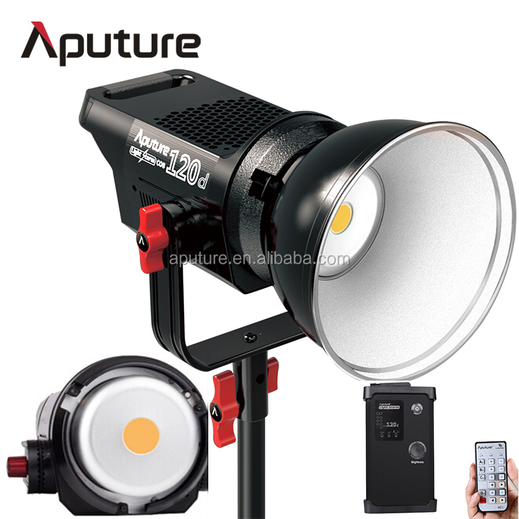Aputure LS C120d photographic lamp 6000k, tripod studio lamp, product photography setup