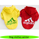 Popular sweater dog, pet to polyester cotton, wholesale pet sweater