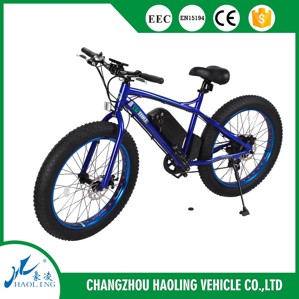 fat bike, promotion electric bicycle with fat tyres and large wheels