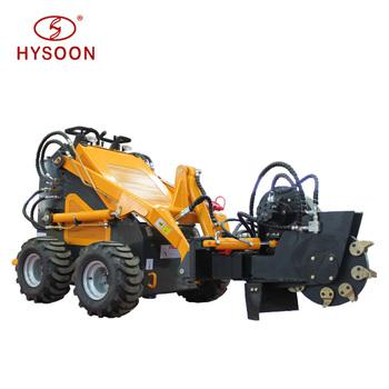 Farm Machinery Chinese Cheap Utility Vehicle Hysoon Hy380 Mini