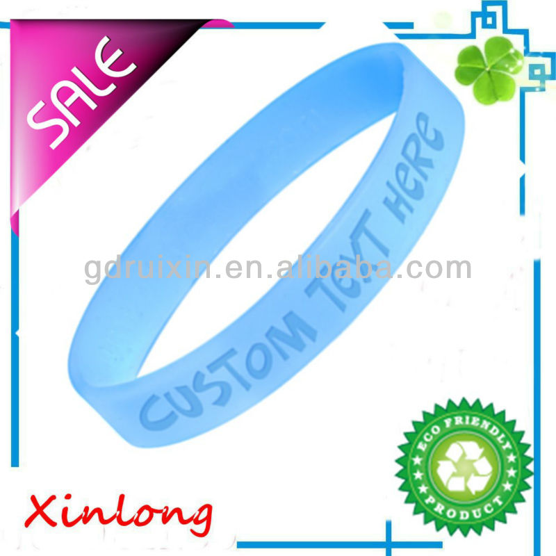 customized silicone wristband silicone rubber arm bands