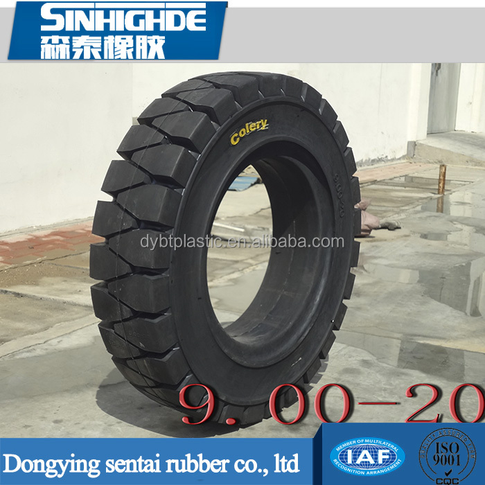hot china products wholesale Marcher Brand Forklift Tyre 9.00-20