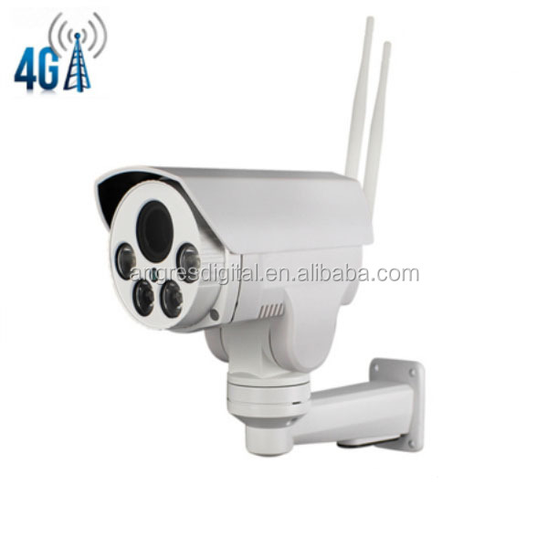 4G SIM Card 1080P Wireless Security IP Camera PTZ Outdoor Night Vision Network Home Video Surveillance With Micro SD Card