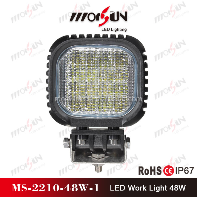 "Morsun 4.5"" offroad led pod, 12v 24v 48w led pod headlight car, 4*4 car 48w led light pod"