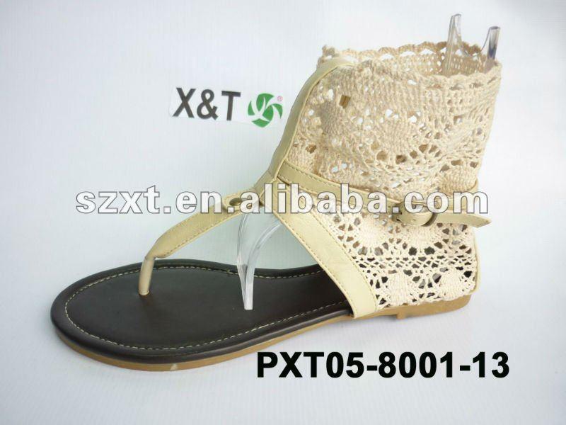 Ladies Flatsummer Sandals Shoes New Design