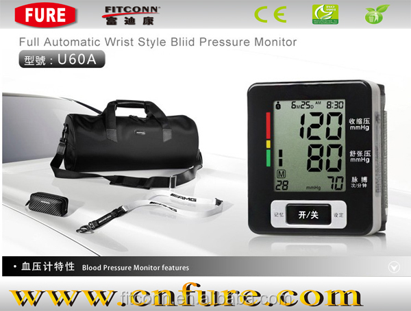 Non height weight blood pressure machine/wrist bpm type supplier