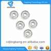 Factory supply rubber ball bearing of roller skate wheels bearing