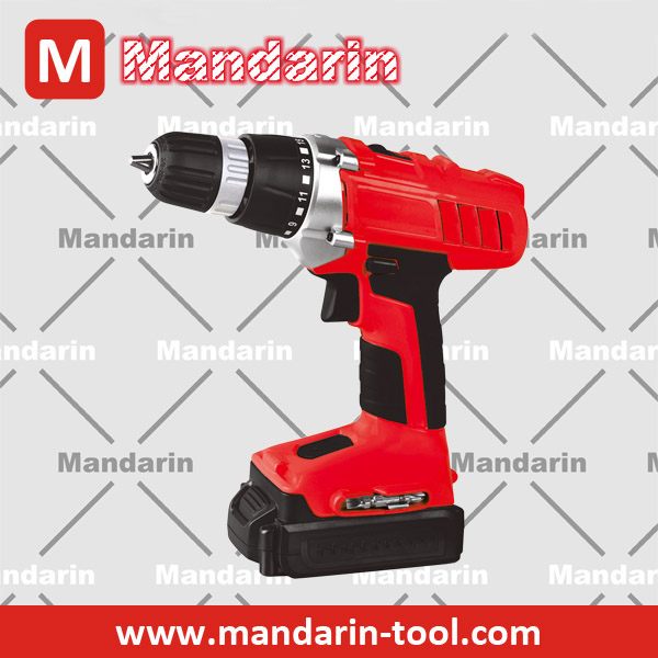 two speeds 16+1 torque setting battery drill 14.4V