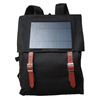 Outdoor travel red solar chargeable mobile phone shoulder bag