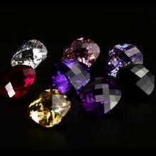 Cushion CZ Stone White/Amethyst/Black/Yellow Sapphire Price Cubic Zirconia