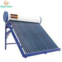Compact Pressure Solar Hot Water Collector