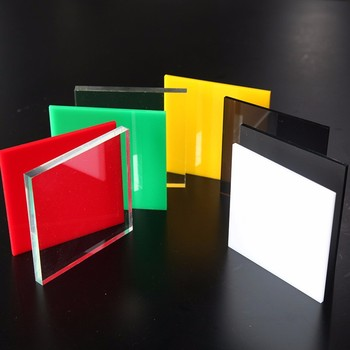 Plastic Pmma Sheet Transparent Clear And Transparent Color Acrylic ...