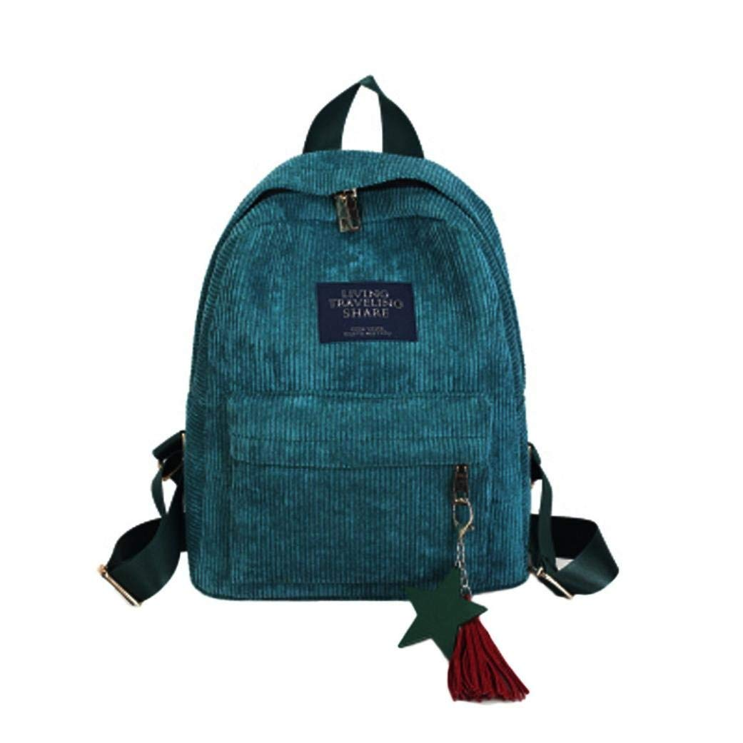 5864779c459f Get Quotations · BCDshop Women Backpack School Teens Girls Small Satchels  Purse Fashion Daypack with Tassel