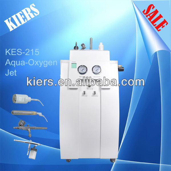 Oxygen jet skin care system/vertical jet peel water oxygen therapy facial machine hydra dermabrasion machine for skin care