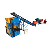 QT4-10 Automatic press lego brick machine clay bricks