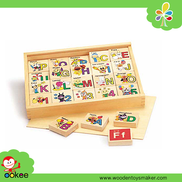 Hui Mei Arabic Number Alphabet Hiragana Building Block Set Educational Toy