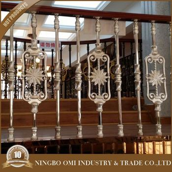 Steel Pipe Handrail/steel Handrail Balustrade For Balcony/wrought ...
