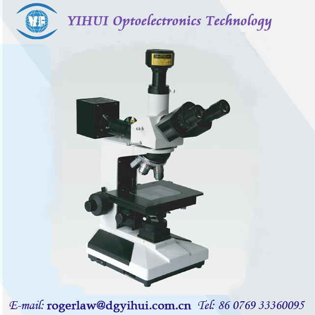 Angle Measurement Trinocular Metallurgical Microscope