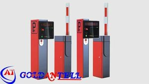 Car auto parking barriers