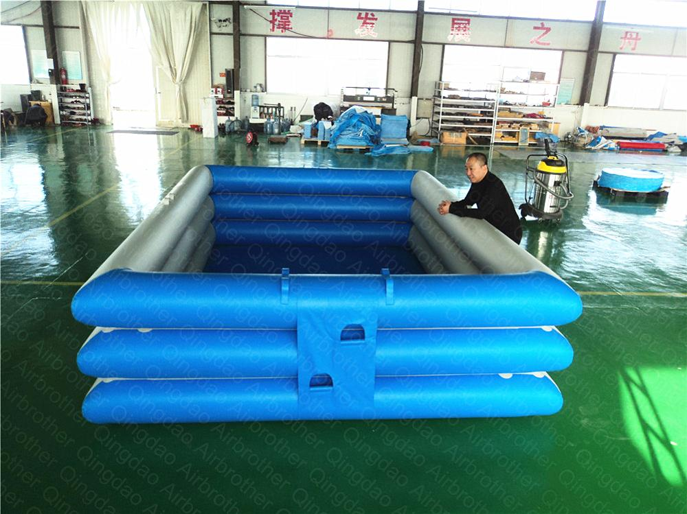Plastic Collapsible Inflatable Rectangular Water Swimming Pool For Kids -  Buy Inflatable Square Swimming Pool,Inflatable Water Pool For ...