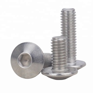 M6 M8 Stainless Steel SS304 SS316 Hex Socket Truss Head Machine Screw