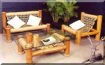 Bali Bamboo Living Room Sofa - Buy Sofa Product on Alibaba.com