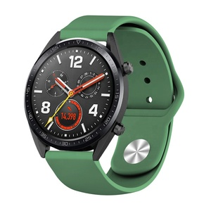 Custom Sport Rubber Silicone Smart Watch Strap For Huawei Watch GT Band