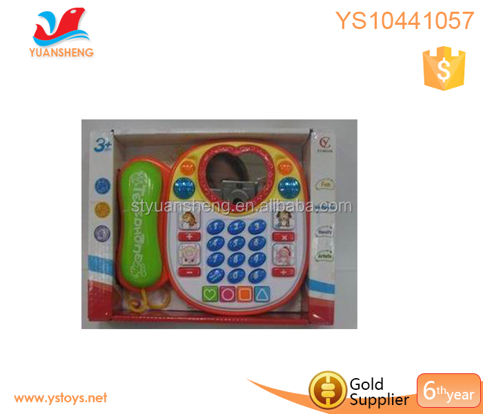 Promotive gift baby education musical mobile toys mobile phone for kids