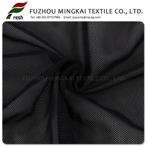 Black Sandwich mosquito net air spacer mesh 3d fabric For Sportswear