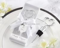 Chrome Heart Bottle Stopper Bridal Shower Favors