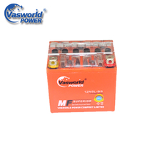 Low Self Discharged 12V 5Ah Sealed Gel 12N5L Motorcycle Battery