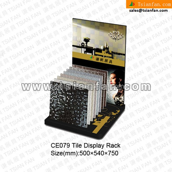 CE079--MDF material flooring display stand
