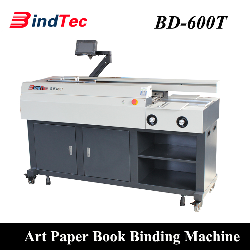 600T Art Paper Book Binding Machine Perfect Binder
