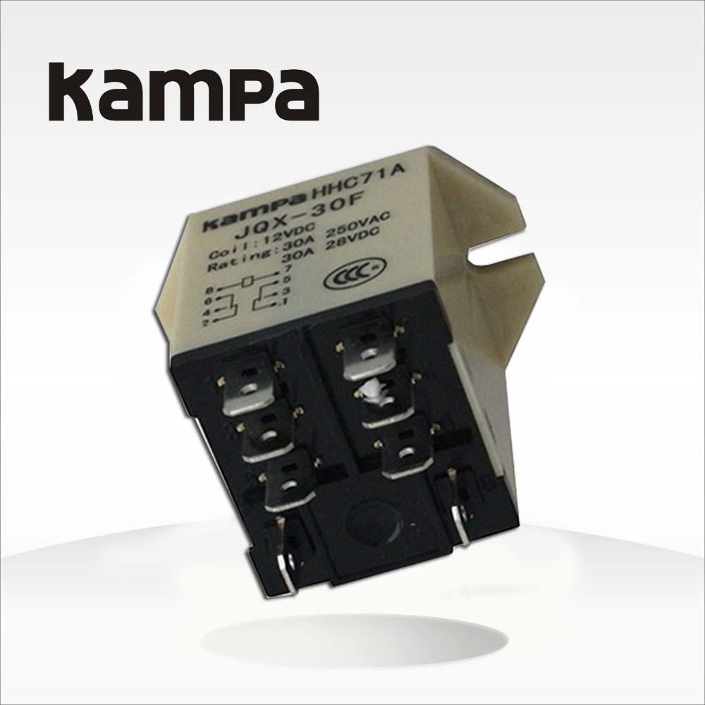 Jqx 30f 2z Ac 220v 24v 12v 30a Dpdt General Power Relay Buy Switch
