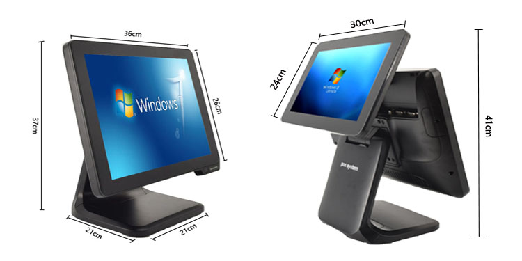 Taixun High Quality Restaurant Waterproof 15 Inch  Windows Touch All In One Billing Cash Machine Pos System