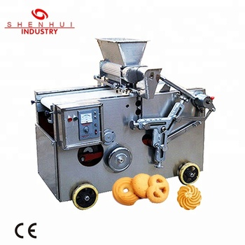 SH-CM400/600 multifunction cookie machine for bakery business