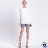 online shopping india white long sleeve sweet women blouse ladies tops design lace fashion clothing