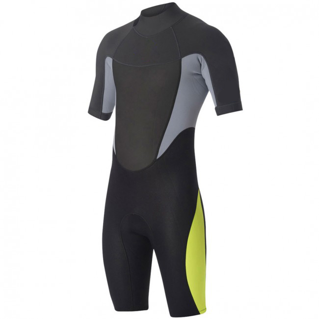 New 2mm Men`s Shorty Sleeve Spring wetsuit