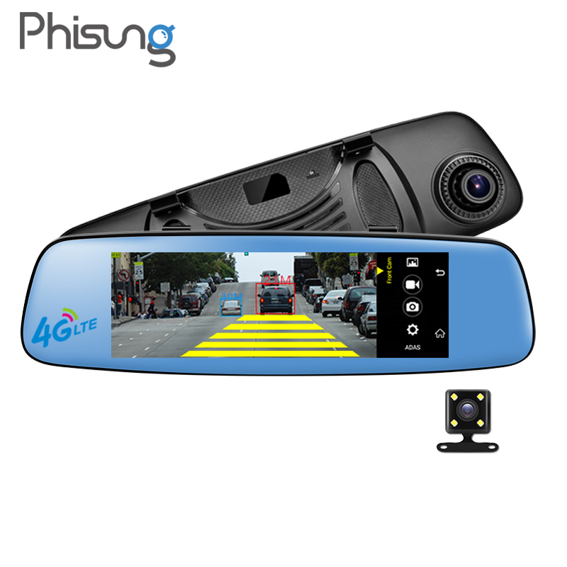 4g Smart Car Dvr Rearview Mirror Dash Cam Car Driving Recorder 7 84