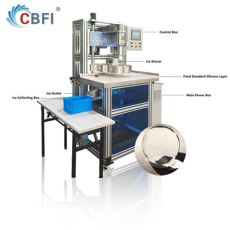 CBFI clear ice ball maker bulk production for high-end wine-6