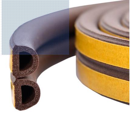 Epdm Door And Window Sheet Rubber Gap Filler Edge Strips
