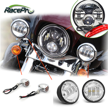 Motorcycle Parts Accessories Custom Project Spot Fog LED Motorcycle Light Headlight