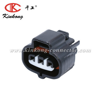 3 way female AC Pressure Switch connector for Toyota 6189-0099 90980-10845 (90980-12636)