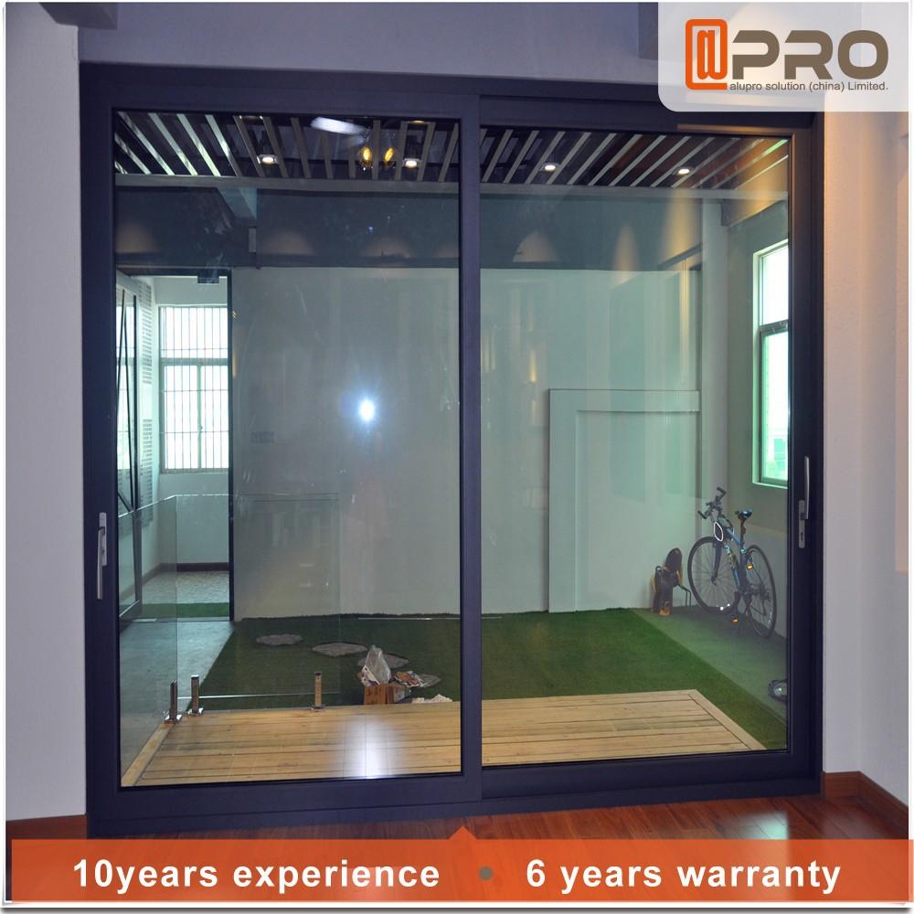 Telaio in lega di alluminio porta scorrevole in vetro per soggiorno in gardern per balcone porta - Telaio porta scorrevole ...