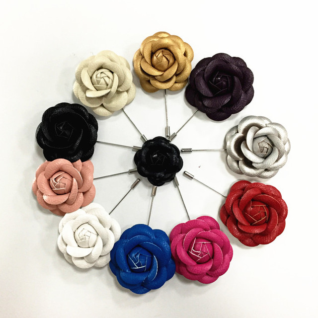 Buy Cheap China leather flower brooch Products, Find China leather ...