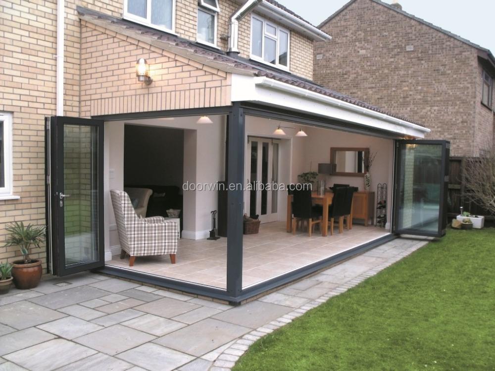 Plegadora patio puertas de vidrio exterior ferreteria bi for Puertas para patio exterior