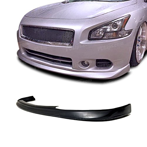 PULIps NSMX09STLFAD Sleek Style Front Bumper Lip For Nissan Maxima 2009-2014