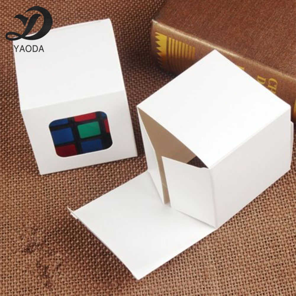 Window customize color paper box