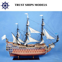 Cheap Handcrafted Wooden Miniature Ship Model